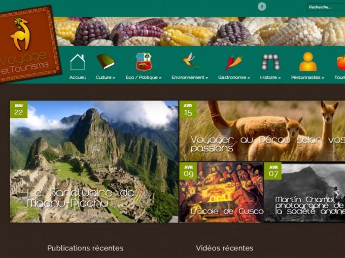 Voyage Tourisme au Pérou